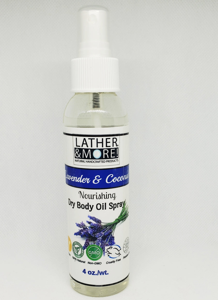 Lavender and Coconut Dry Body Oil