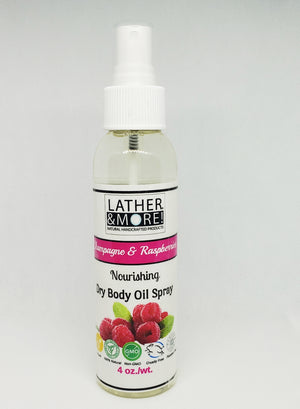 Champagne and Raspberries Dry Body Oil