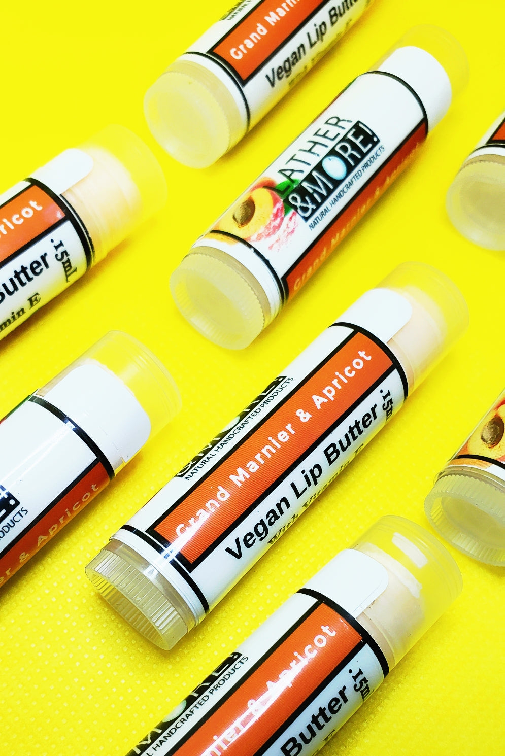 Grand Mariner & Apricot Lip Butter