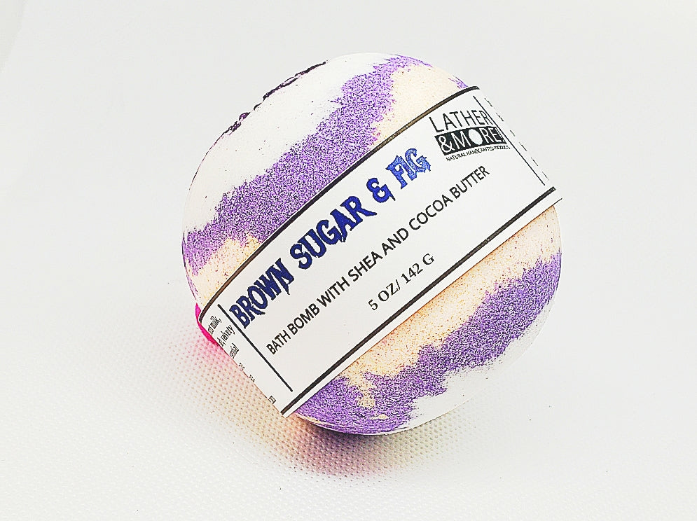 Brown Sugar & Fig bath ball