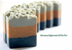 Rosemary Peppermint & Tea Tree Facial Soap