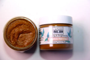 Turmeric and Rose Clay Mask