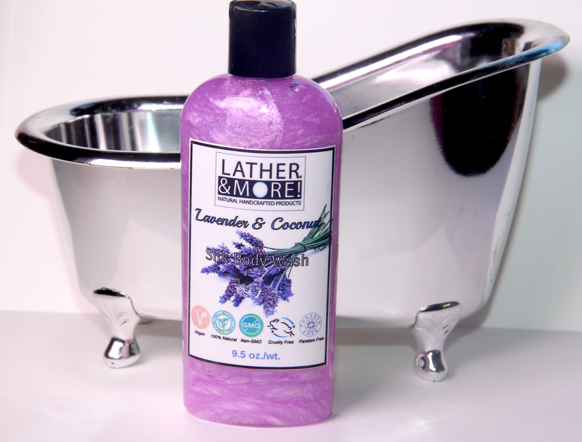 Lavender & Coconut Milk Silk Body Wash