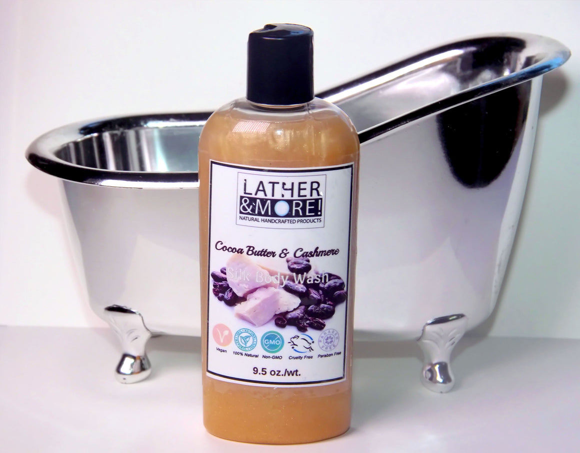 Cocoa Butter & cashmere Silk Body Wash