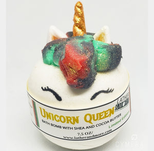 UNICORN QUEEN BATH BALL