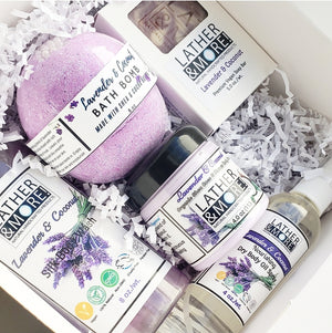 Lavender and Coconut Gift Box