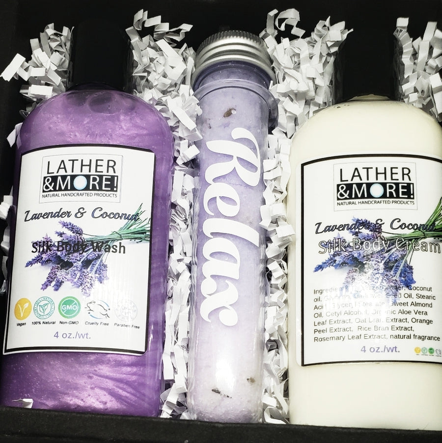 Lavender and Coconut Small Gift Box