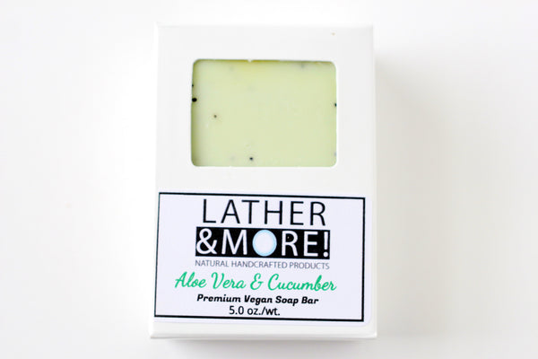 Aloe Vera and Cucumber Soap