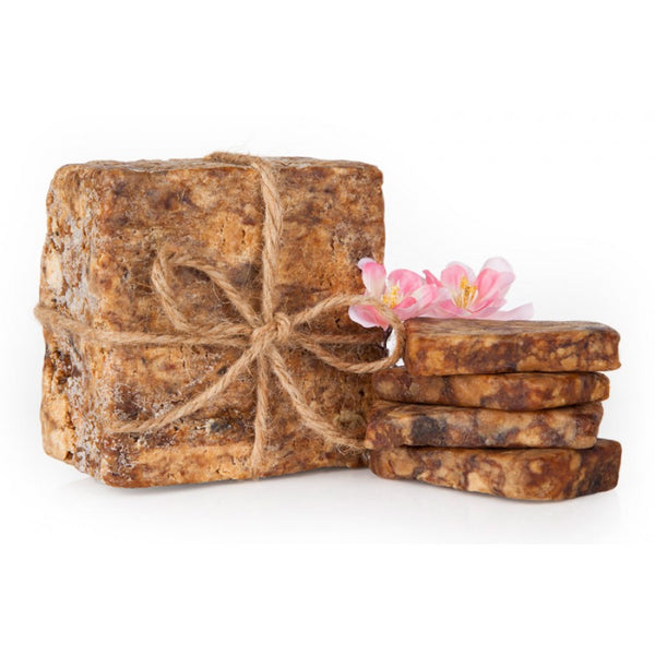 African Raw Black Soap - Unscented