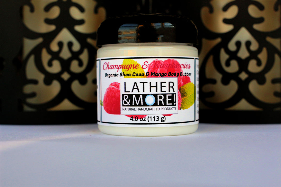 Champagne and Raspberries body butter