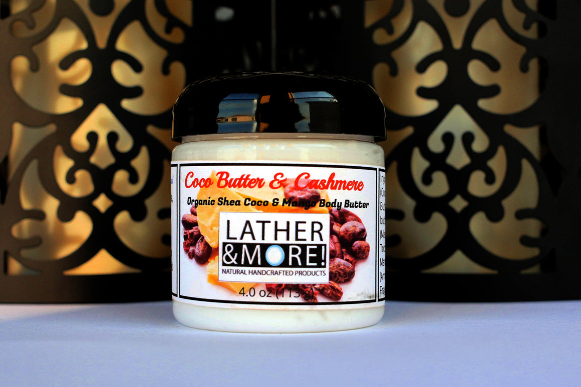 Cocoa Butter and Cashmere whipped body butter
