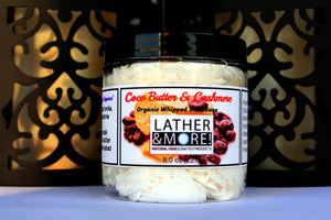 Cocoa Butter Cashmere whipped cream soap