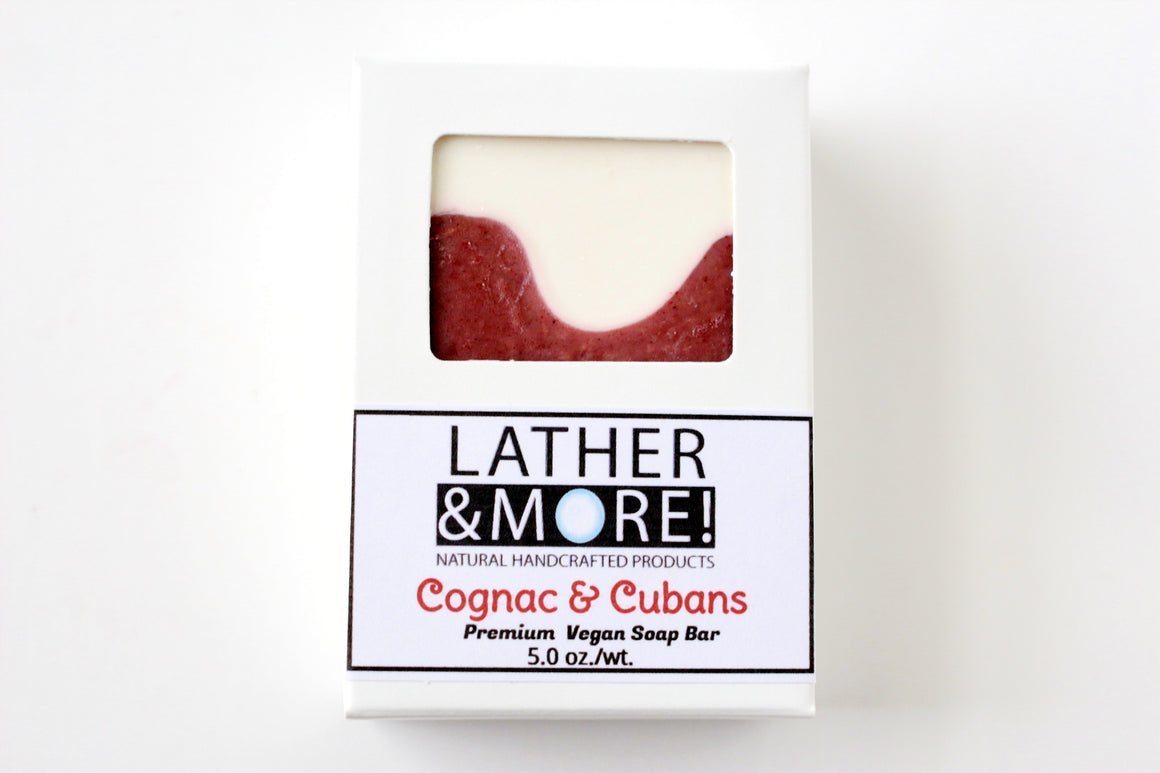 Cognac and Cubans Soap