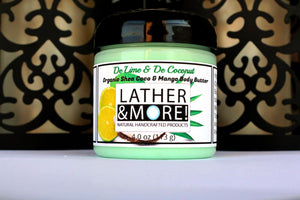 De Lime in De Coconut Whipped Body Butter