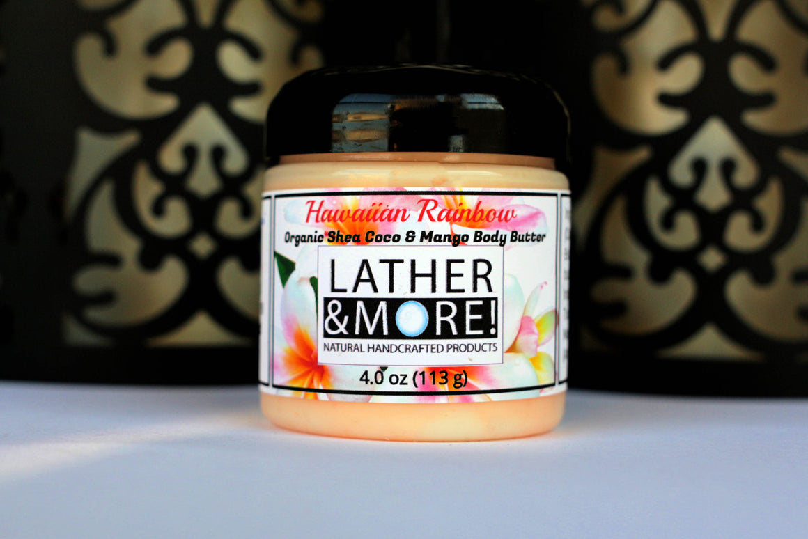 Hawaiian Rainbow whipped body butter