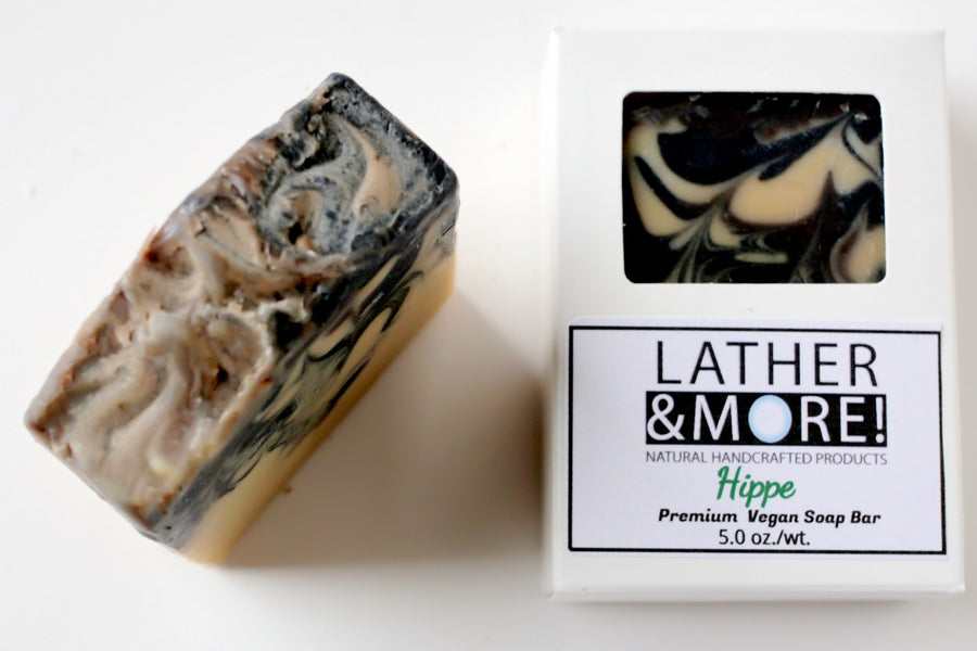 Hippie essential oil soap