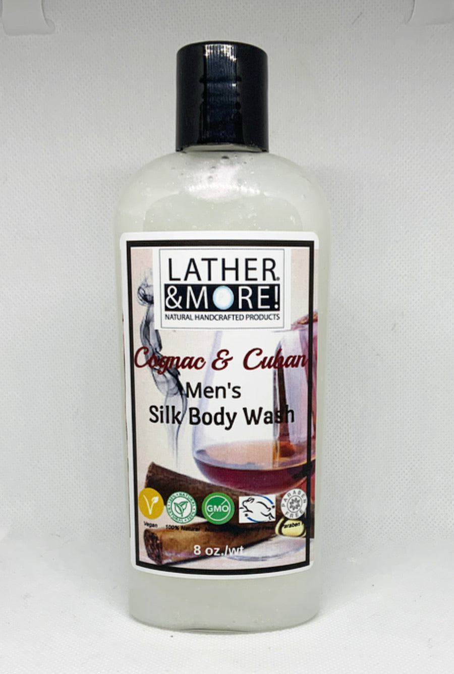 Cognac and Cuban Body Wash