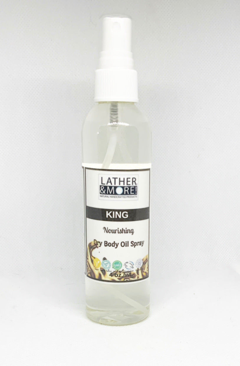 KING Dry Body Oil