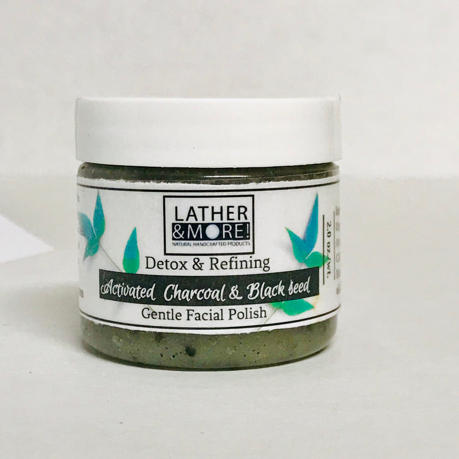 Activated Charcoal & Black Seed Oil Facial Polish