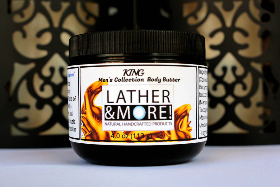 King Whipped Men's Body Butter