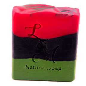 King men's natural soap