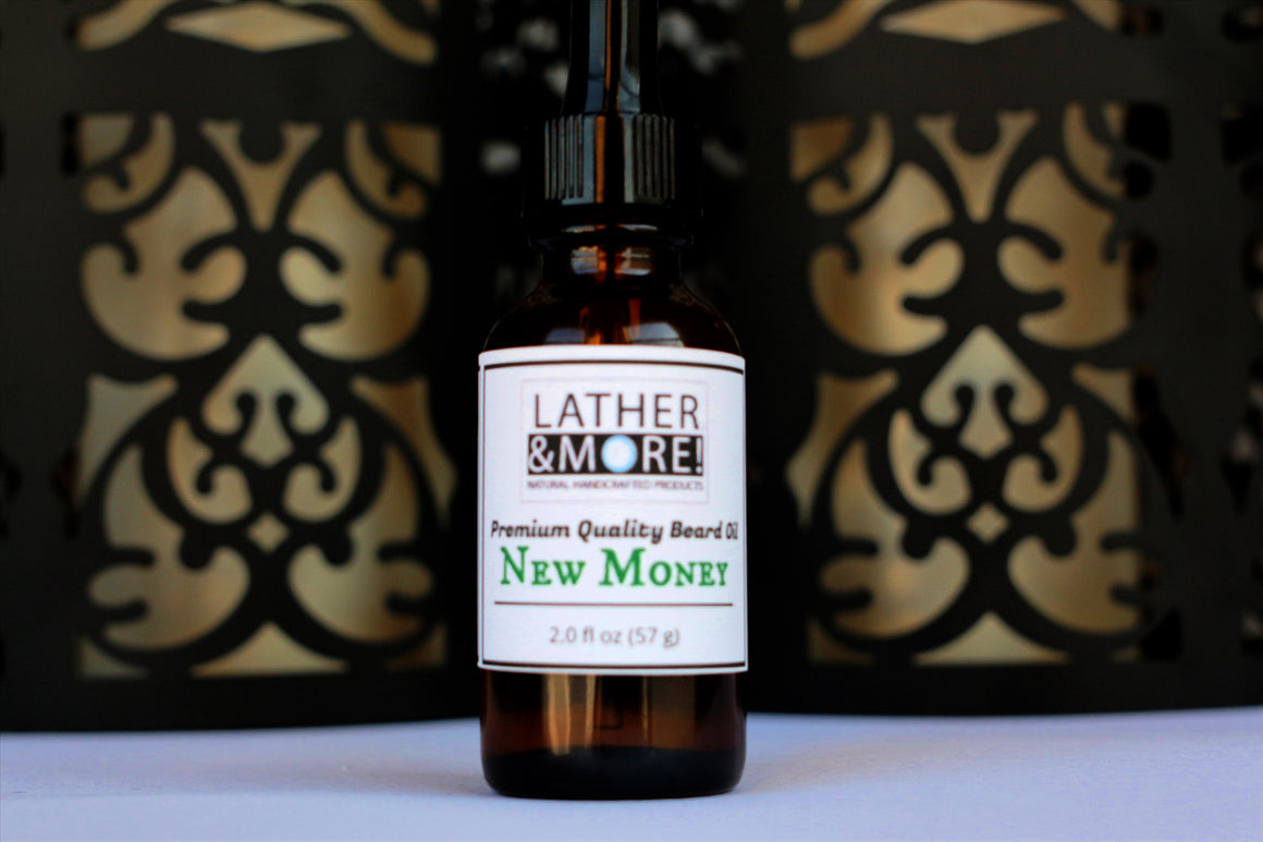 New Money Natural Beard Oil