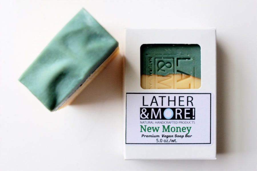 New Money mens soap