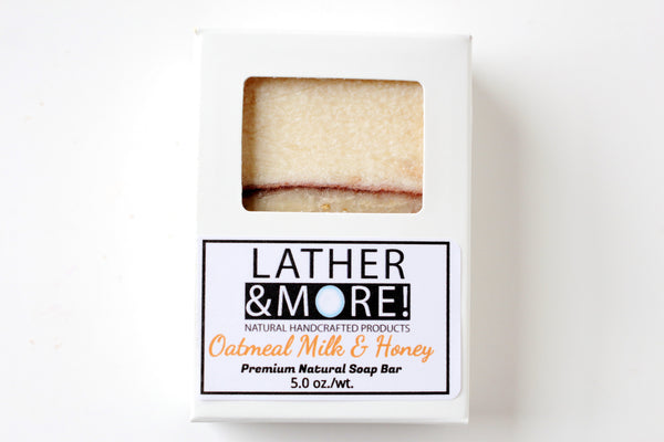 Oatmeal, Milk and Honey Natural Soap