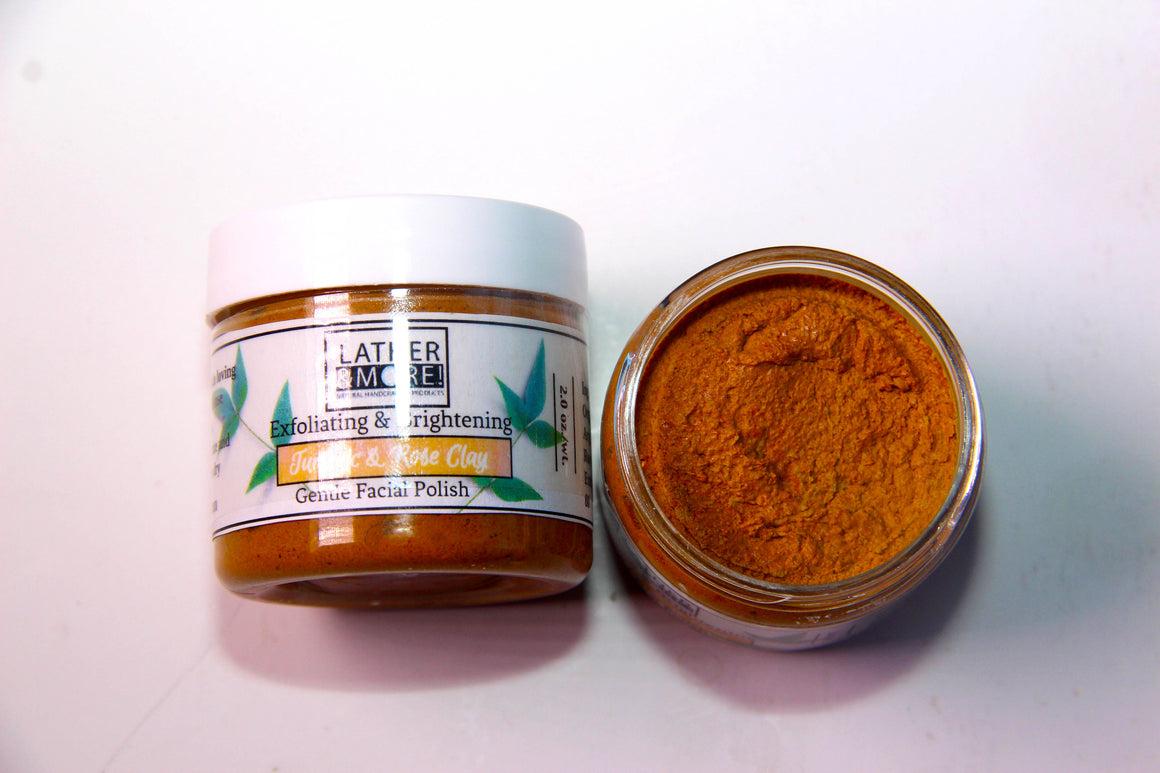Turmeric & Rose Clay Facial Polish