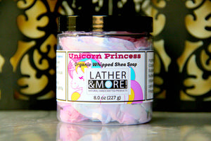 Unicorn Princess Whipped Shea Soap