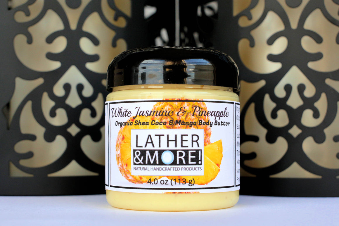 White Jasmine and Pineapple Whipped Body Butter