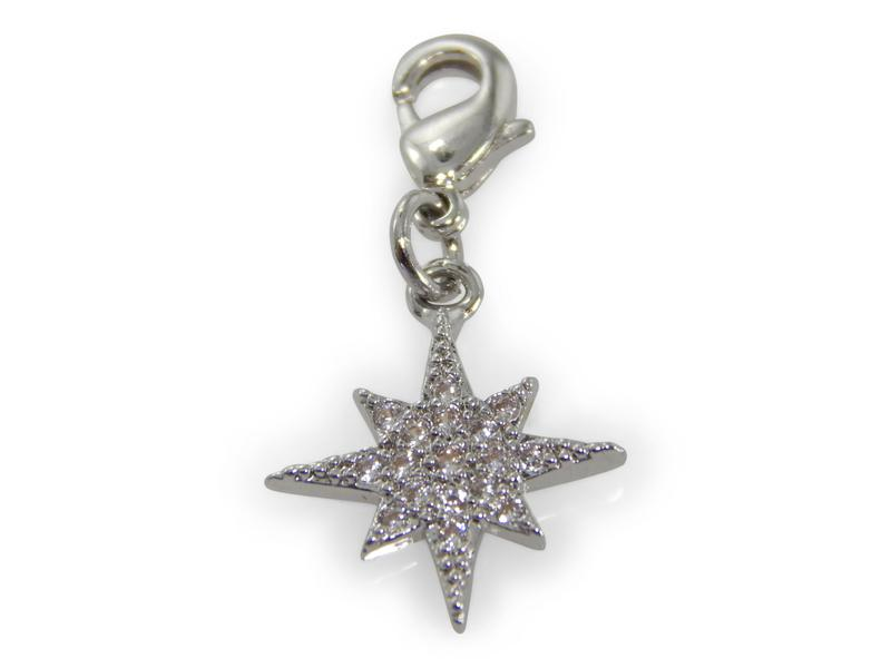 ERIMISH CHARMING COLLECTION HOLIDAY CHARM - SILVER STAR