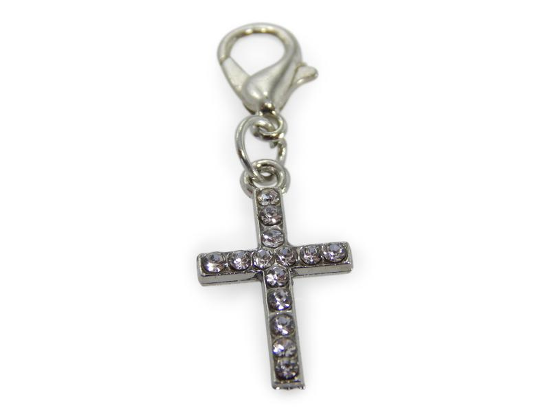 ERIMISH CHARMING COLLECTION HOLIDAY CHARM - SILVER CROSS