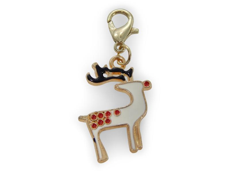 ERIMISH CHARMING COLLECTION HOLIDAY CHARM - REINDEER