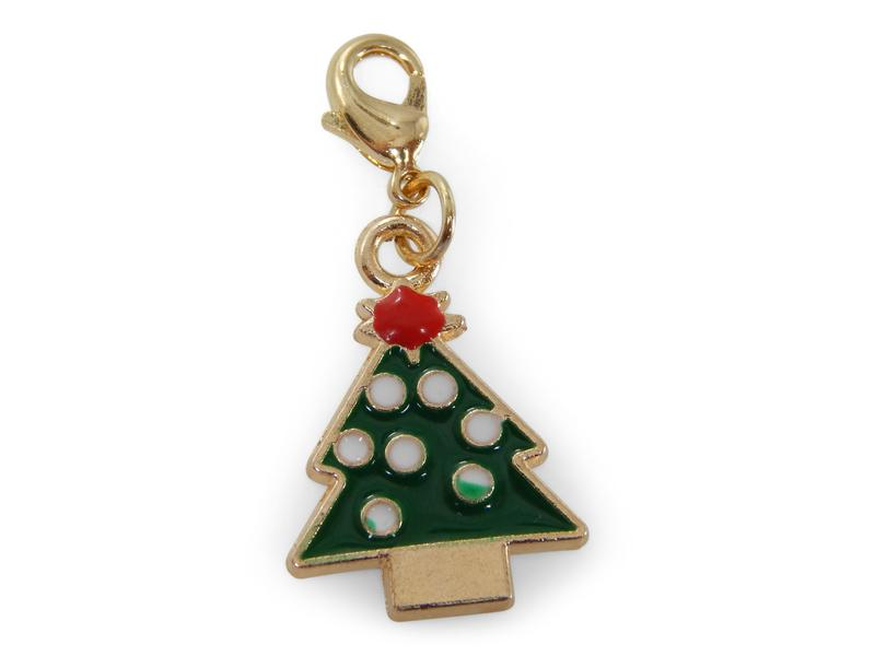 ERIMISH - CHARMING COLLECTION HOLIDAY CHARM - COLORFUL CHRISTMAS TREE