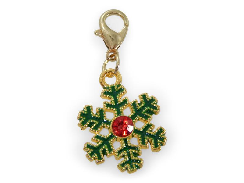ERIMISH - CHARMING COLLECTION HOLIDAY CHARM - COLORFUL SNOWFLAKE