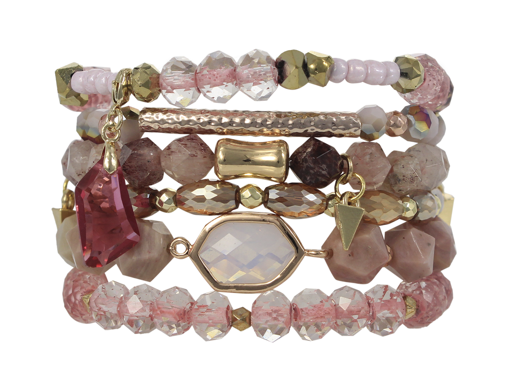 ERIMISH - BERRY STACK BRACELET SET