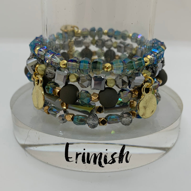 ERIMISH  - CASINO STACK BRACELET SET