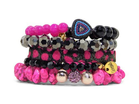 ERIMISH - CLOWN STACK BRACELET SET