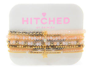 "ERIMISH ""HITCHED"" BRIDESMAID SET - PINK"
