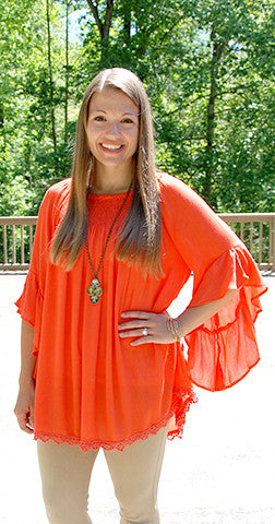 Orange You Pretty - Orange Tunic