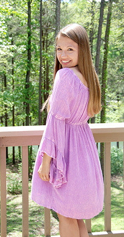Luscious in Lavender - Dress
