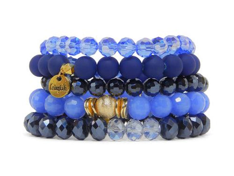 ERIMISH - DENIM STACK BRACELET SET