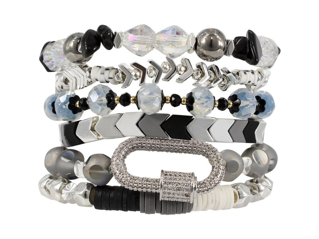 ERIMISH - FLASH  BOXED STACK BRACELET SET