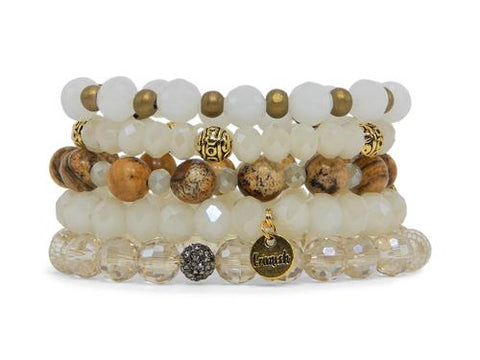 ERIMISH - GOLDEN GIRLS STACK BRACELET SET