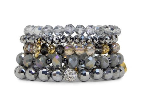 ERIMISH -  GRANITE STACK BRACELET SET