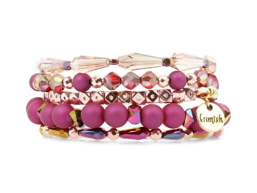 ERIMISH  -  HEART STACK BRACELET SET