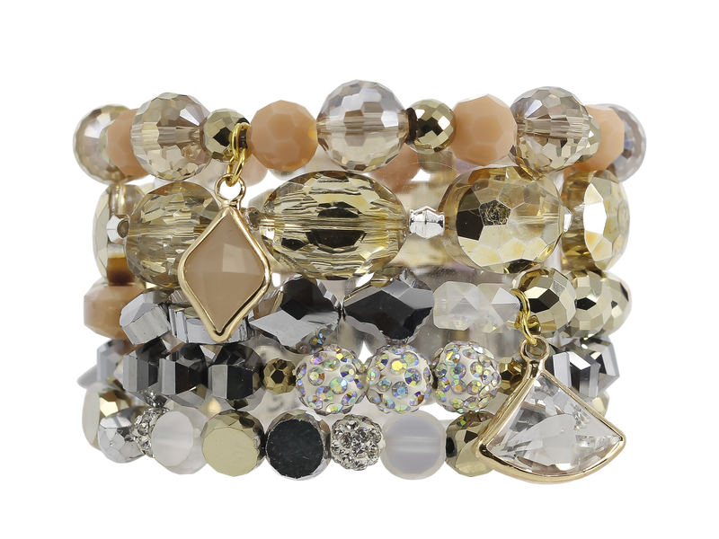 ERIMISH  -  JEWEL STACK BRACELET SET