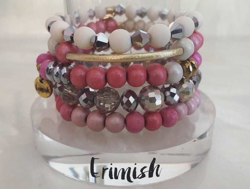 ERIMISH  - GRACIE ROSE STACK BRACELET SET
