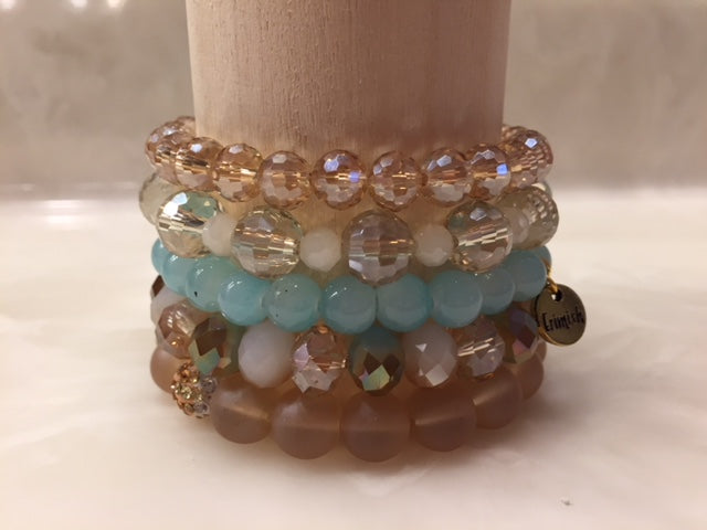 ERIMISH  -  GOLDIE STACK BRACELET SET